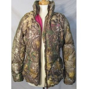 Realtree Hunter Camo Puffer Jacket Coat